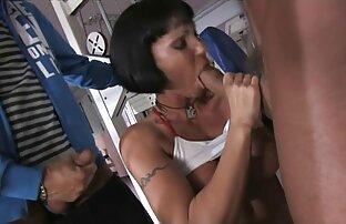 ناز, پرستار, لباس زیر زنانه, نوازش پاهای بلند و باریک پخش زنده سکس خارجی و چشمک می زند الاغ او